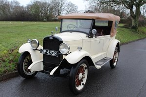 Chevrolet Capitol Tourer 1927  - To be auctioned 31-01-2020