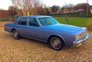 1984 CHEVROLET IMPALA 3.8 V6 JUST 26,000 MILES FINEST AVAILABLE