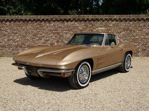 1964 Corvette C2 StingRay Coupe matching numbers and colours, 365 For Sale