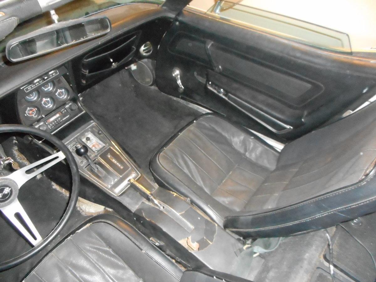 1974 CHEVROLET CORVETTE C3 CONVERTIBLE  For Sale (picture 5 of 6)