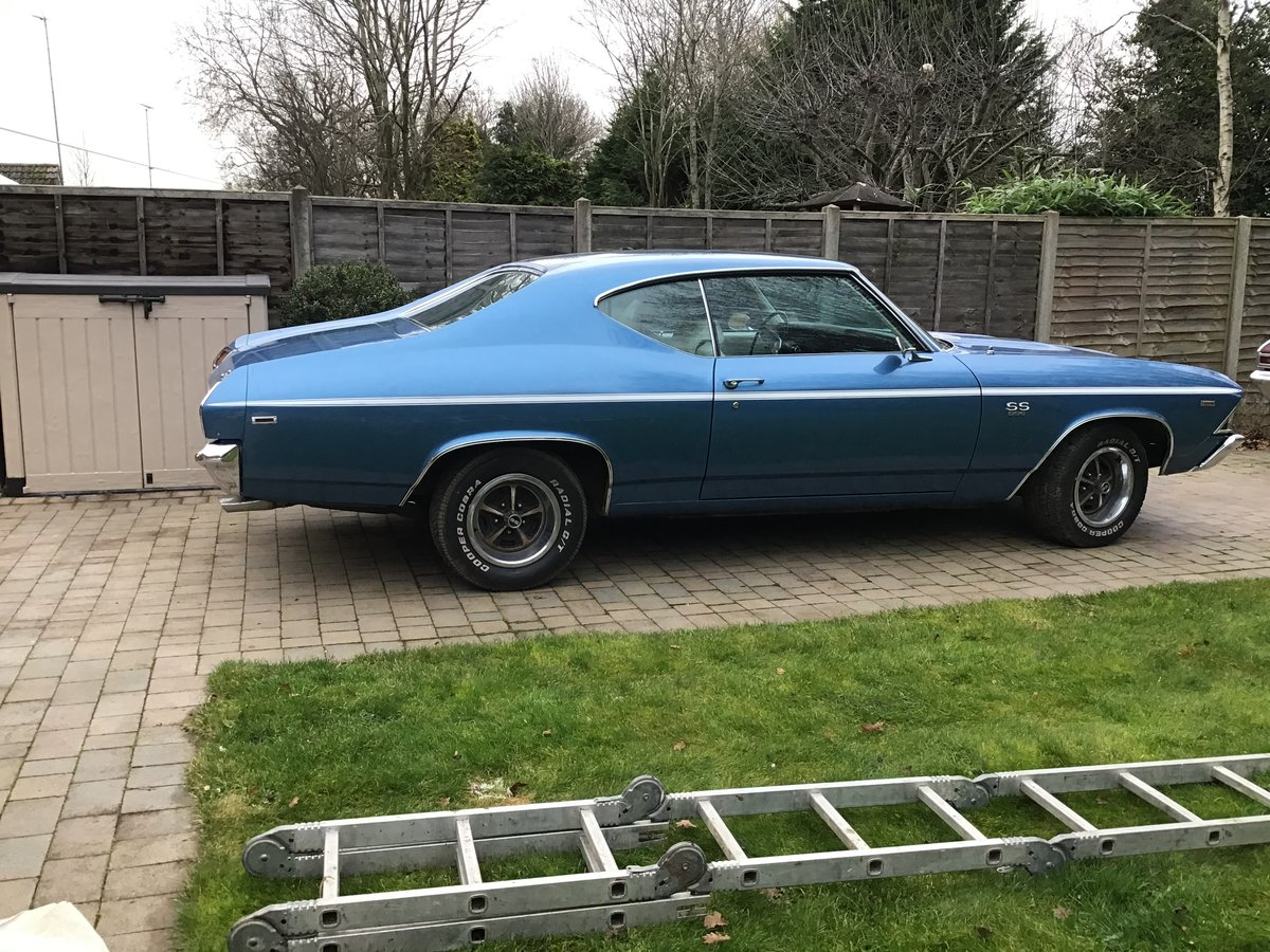 1969 Chevrolet 396cu Chevelle ss For Sale (picture 1 of 6)