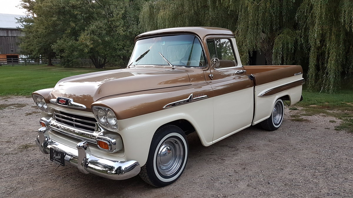 1958 Chevrolet Apache 50th Anniversary Edition For Sale (picture 1 of 6)