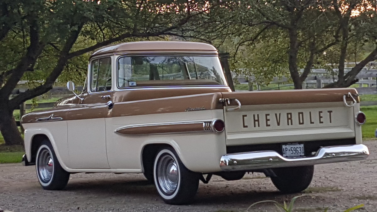 1958 Chevrolet Apache 50th Anniversary Edition For Sale (picture 2 of 6)