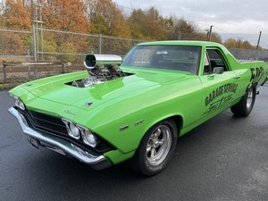 1969 Chevrolet ElCamino Supercharged HotRod Drag R For Sale