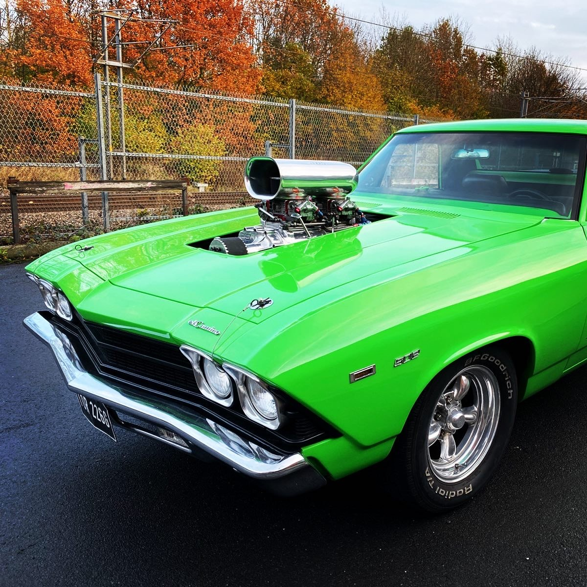 1969 Chevrolet ElCamino Supercharged HotRod Drag R For
