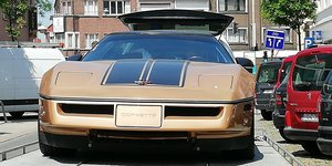 1985 Gold edition corvette