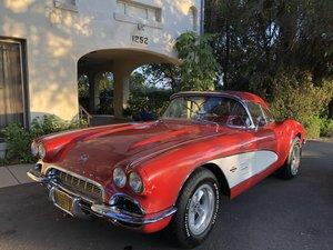 ***1961 Corvette C1 327 V-8 For Sale