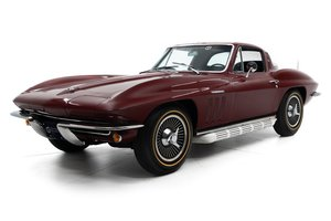1965 Corvette Sting Ray Coupe 375 hp fuelie 4 spd $89.5k