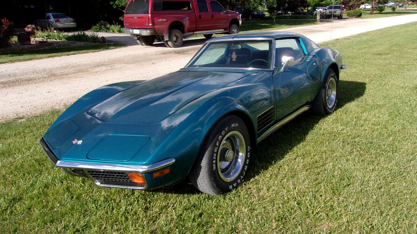 1972 Chevrolet Corvette with 37,000 original miles For Sale (picture 1 of 6)