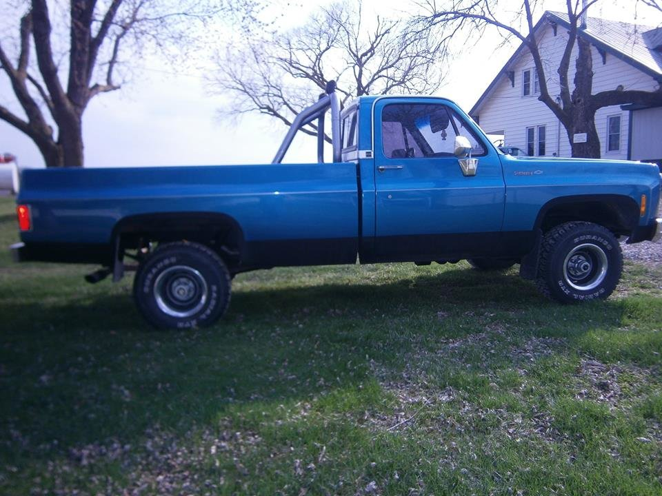 1979 Chevrolet Scottsdale 4x4 Pickup For Sale (picture 5 of 6)