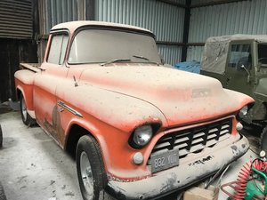1955 Chevrolet 3100 2nd Series Stepside Pickup For Sale