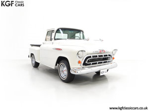 1957 A Gorgeous Chevrolet 3100 Task-Force 57 Stepside Pick Up SOLD