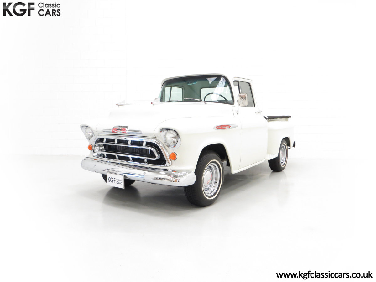 1957 A Gorgeous Chevrolet 3100 Task-Force 57 Stepside Pick Up SOLD (picture 2 of 6)