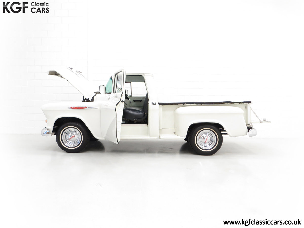 1957 A Gorgeous Chevrolet 3100 Task-Force 57 Stepside Pick Up SOLD (picture 3 of 6)