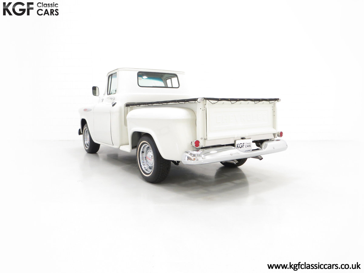 1957 A Gorgeous Chevrolet 3100 Task-Force 57 Stepside Pick Up SOLD (picture 4 of 6)