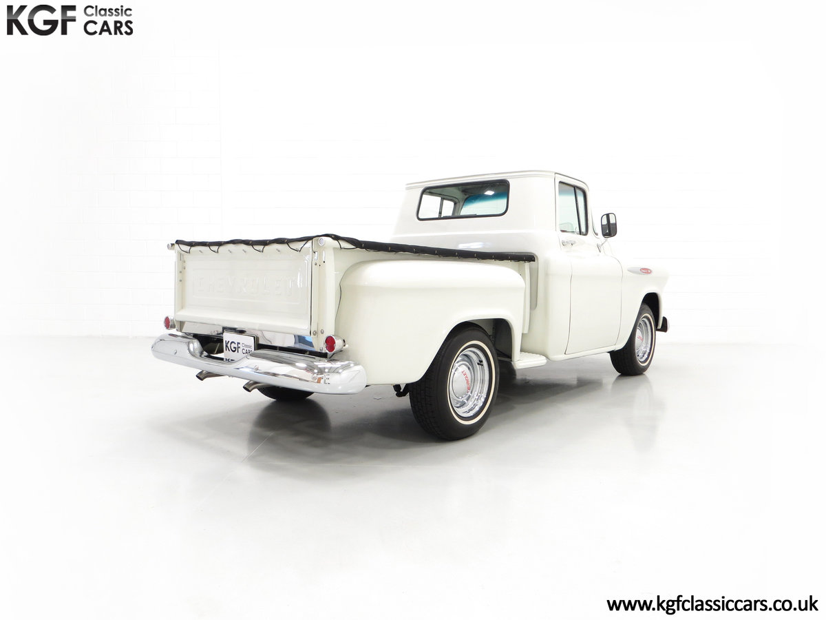 1957 A Gorgeous Chevrolet 3100 Task-Force 57 Stepside Pick Up SOLD (picture 5 of 6)
