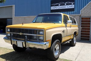 1984 Chevrolet Blazer K5 Silverado Edition For Sale