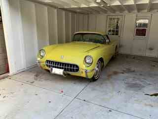 1954 Corvette Roadster Convertible C-1 265-V8 AT Yellow $38. For Sale