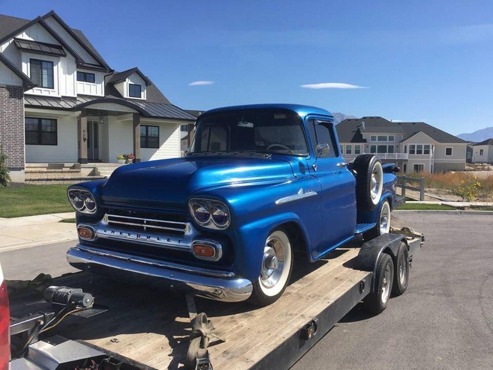 1958 Chevrolet Apache (Fort Walton Beach, FL) $36,500 obo For Sale (picture 1 of 6)