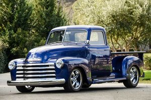 1949 Chevy 3100 Pickup Custom 5.7L Vortec mods Show $45.9k For Sale
