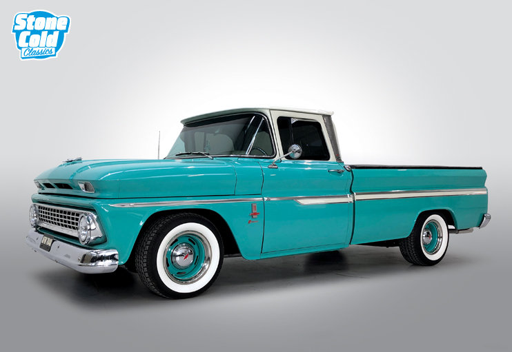 1963 Chevrolet C-10 pick-up Supercharged SOLD (picture 1 of 10)