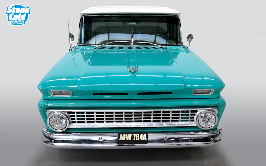 1963 Chevrolet C-10 pick-up Supercharged SOLD (picture 4 of 10)