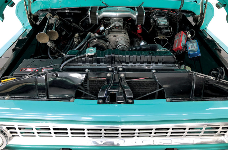1963 Chevrolet C-10 pick-up Supercharged SOLD (picture 7 of 10)