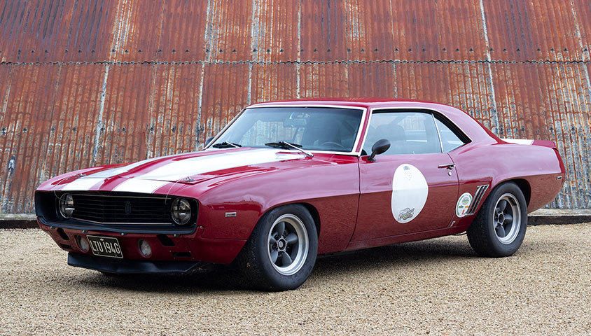 1969 Chevrolet Camaro RS/SS - HSCC Race Car For Sale (picture 1 of 6)