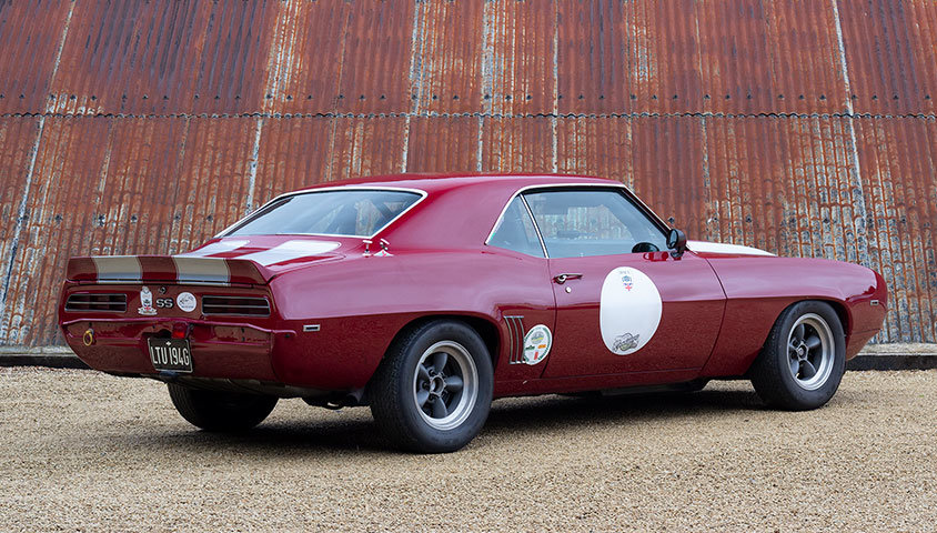 1969 Chevrolet Camaro RS/SS - HSCC Race Car For Sale (picture 3 of 6)