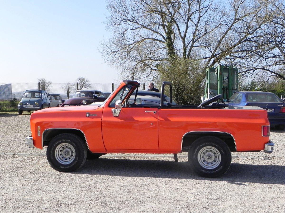 1975 Chevrolet Blazer K5 Cheyenne CABRIOLET UNIQUE For Sale (picture 1 of 6)
