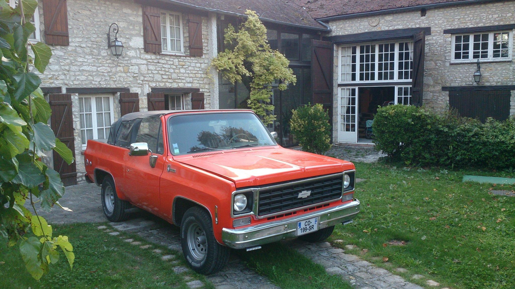 1975 Chevrolet Blazer K5 Cheyenne CABRIOLET UNIQUE For Sale (picture 4 of 6)