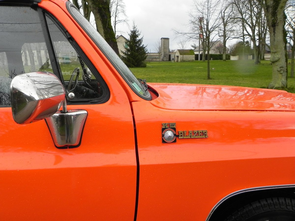 1975 Chevrolet Blazer K5 Cheyenne CABRIOLET UNIQUE For Sale (picture 5 of 6)