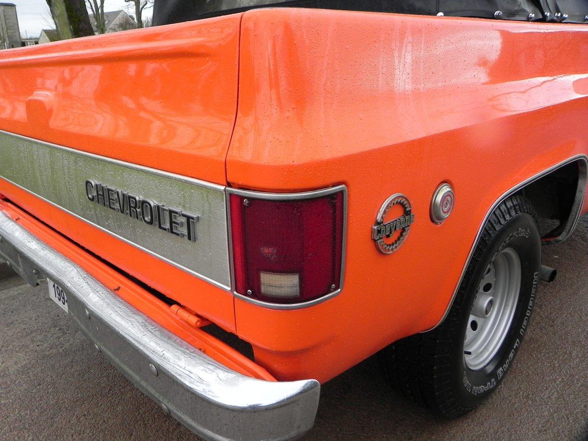 1975 Chevrolet Blazer K5 Cheyenne CABRIOLET UNIQUE For Sale (picture 6 of 6)
