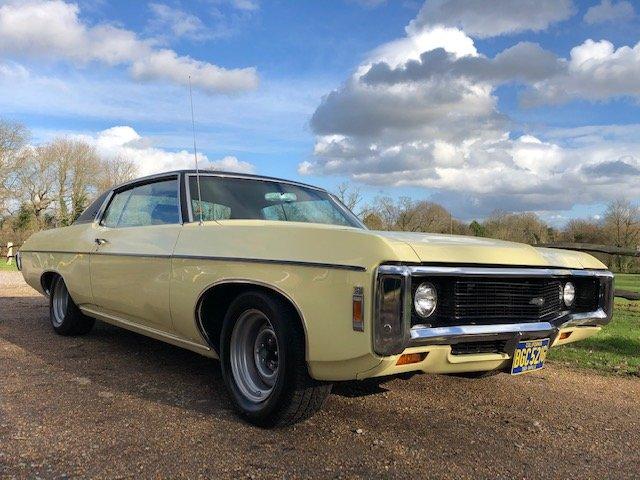 1969 Chevrolet Impala SPORT CUSTOM 5.7 V8 For Sale (picture 2 of 6)