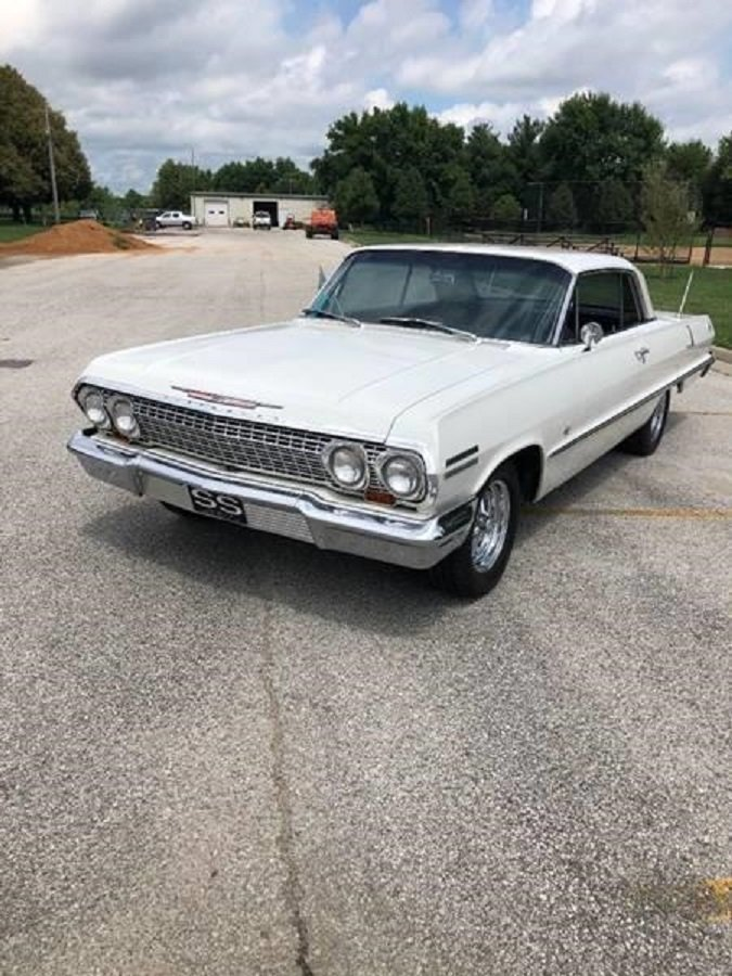 1963 Chevrolet Impala SS 2DR HT For Sale (picture 2 of 6)