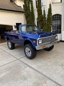 1972 Chevrolet K-5 Blazer CST (Waxhaw, NC) $49,999 obo