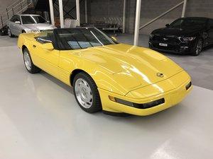 1991 Chevrolet Corvette C4 Convertible Auto Low Mileage