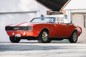 1968 Chevrolet Camaro RS/SS Convertible - The manual RS! For Sale by Auction