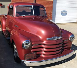 Custom 1948 Chevy 3100 pickup Hot rod SOLD