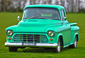 1955 1956 Chevrolet 8.2 litre Stepside Pickup custom truck For Sale