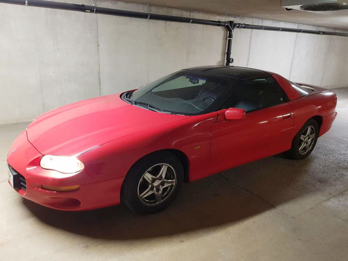 1998 Chevrolet Camaro Coupe 22 Feb 2020 For Sale by Auction (picture 1 of 5)