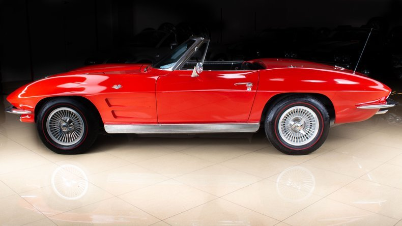 1963 Corvette Stingray Convertible 327 4 Speed Manual $54.9k For Sale (picture 1 of 6)