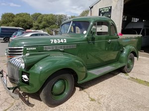 1944 Chevy ute pick up RHD For Sale