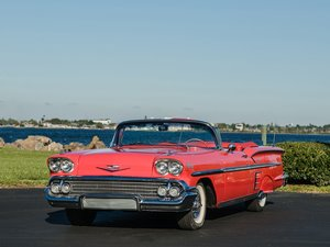1958 Chevrolet Impala Convertible  For Sale by Auction
