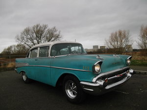 1957-Chevy-Belair-350-V8-5-7L-Automatic  SOLD