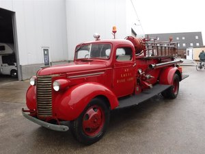 Chevrolet Firetruck RHD!  1939 For Sale