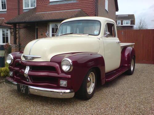 1954 Chevrolet 3100 Custom Pick