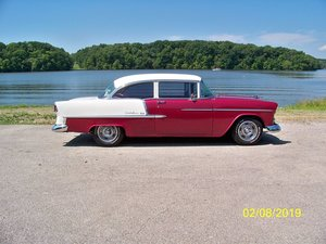 1955 Chevrolet Bel Air 2 door sedan (Mt Zion, IL) $49,900