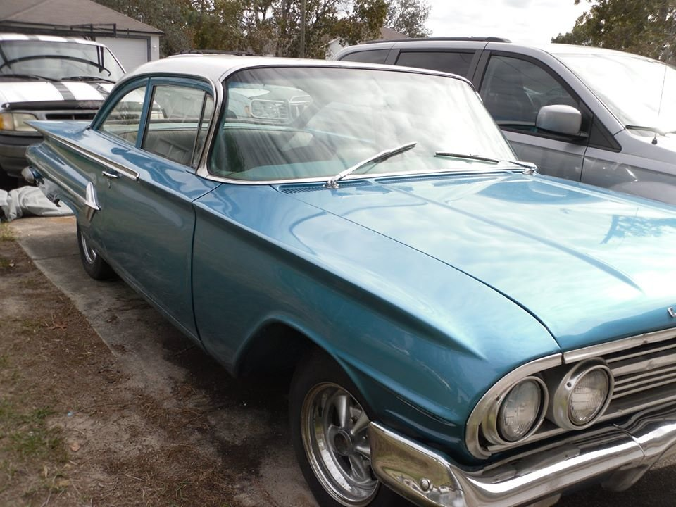 1960 Chevrolet Bel Air (Springhill, FL) $24,995 obo For Sale (picture 1 of 5)