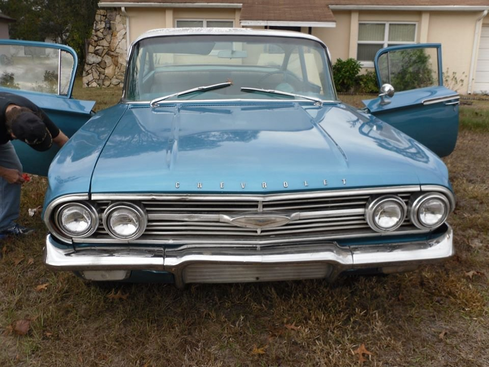1960 Chevrolet Bel Air (Springhill, FL) $24,995 obo For Sale (picture 2 of 5)